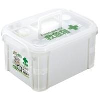 【不動技研】 救急箱 ホワイト F-2465 ★お得な10個パック
