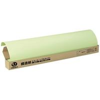 スマートバリュー 模造紙プルタイプ100枚無地鶯 P153J-G5★お得な10個パック
