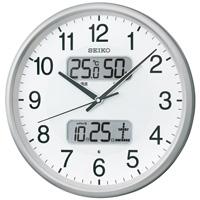 【セイコークロック】 セイコー 電波掛時計 KX383S ★お得な10個パック■代引き決済不可■平日配送のみ可■時間帯指定不可■