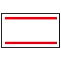 【サトー】 ラベル はりっこ用 赤2本線 5巻 ★お得な10個パック