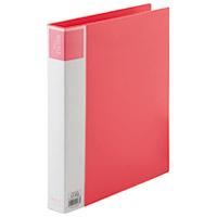 【ジョインテックス】 再生PPリングファイルA4S D009J-10RD赤10冊 ★お得な10個パック