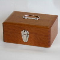 【yoshino】 木製かけ錠印箱 Y72 中 ★お得な10個パック
