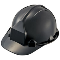 【加賀産業】 ヘルメット つば付 アメリカン型 Nブラック ★お得な10個パック