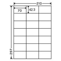 東洋印刷 ナナワードラベル LDZ21QB A4/21面 500枚★お得な10個パック