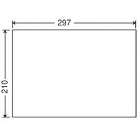 東洋印刷 ナナ コピー用ラベル C1Z A4/全面 500枚★お得な10個パック