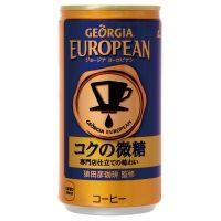 コカ・コーラ ※ジョージア ヨーロピアン185g/30缶★お得な10個パック