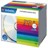 三菱ケミカルメディア DVD-R 4.7GB DHR47J20V1 20枚★お得な10個パック