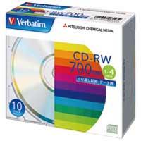 三菱ケミカルメディア CD-RW 700MB SW80QU10V1 10枚★お得な10個パック