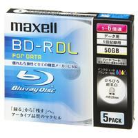 マクセル株式会社 ブルーレイディスクBL-RDL5枚BR50PWPC.5S★お得な10個パック