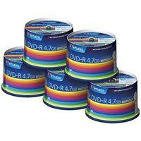 三菱ケミカルメディア データ用DVD-R 250枚(50枚*5) DHR47JP50V3C★お得な10個パック