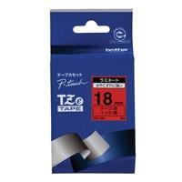 ブラザー 文字テープ TZe-441赤に黒文字 18mm★お得な10個パック