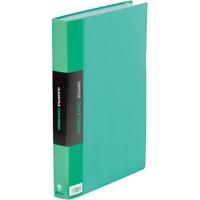 キングジム クリアーファイル 60P 132-3C A4S 緑★お得な10個パック