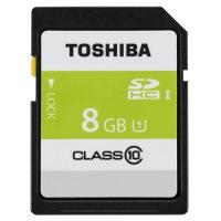 東芝 SDHCメモリカード 8GB SDAR40N08G★お得な10個パック