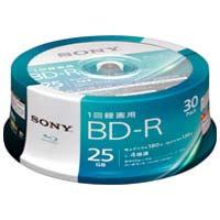 ソニー 録画用BD-R25GBスピンドル30枚 30BNR1VJPP4★お得な10個パック