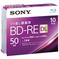 ソニー 録画用BD-RE 50GB 10枚 10BNE2VJPS2★お得な10個パック