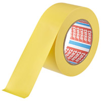テサテープ ラインテープ 50mm×33m 黄 4169★お得な10個パック