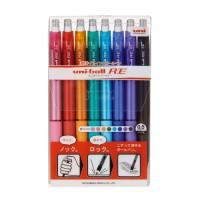三菱鉛筆 ユニボールR:E 8色 URN180058C★お得な10個パック