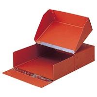 セキセイ 図面箱 T-280-00 A4 茶★お得な10個パック