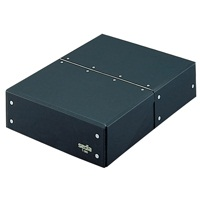 セキセイ 図面箱 T-280-60 A4 黒★お得な10個パック