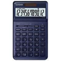 カシオ計算機 デザイン電卓 ネイビー JF-S200-NY-N★お得な10個パック