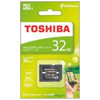東芝 microSDHCカード 32GB MSDAR40N32G★お得な10個パック