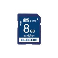エレコム SDHCメモリカード 8GB MF-FS008GU11R★お得な10個パック