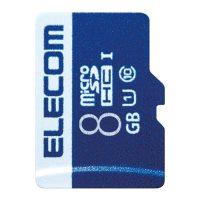 エレコム microSDHCカード 8GB MF-MS008GU11R★お得な10個パック