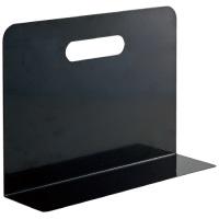 LIHITLAB ブックエンド・タイプ A7352-24 黒★お得な10個パック