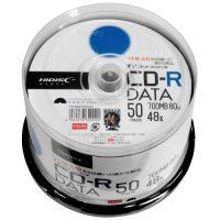 HIDISC CD-R 700MB TYCR80YP50SP 50枚★お得な10個パック