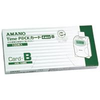 アマノ タイムパックカード(4欄印字)B★お得な10個パック