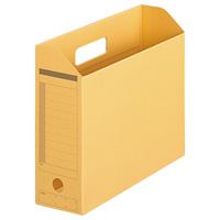 プラス ボックスファイル FL-051BF A4E 黄 10個★お得な10個パック
