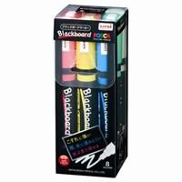 三菱鉛筆 ブラックボードポスカ中字8色PCE-200-5M 8C★お得な10個パック