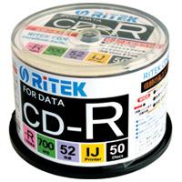 Ri-JAPAN データ用CD-R 50枚 CD-R700EXWP.50RT C★お得な10個パック