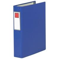 キングジム NEWパイプファイル NC48 A4S青★お得な10個パック