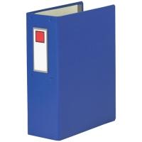 キングジム NEWパイプファイル NC88 A4S青★お得な10個パック