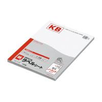 【コクヨ】 PPC用ラベルシート(共用タイプ) B4 100枚入 ノーカット 白KB-A140 入数:1 ★お得な10個パック