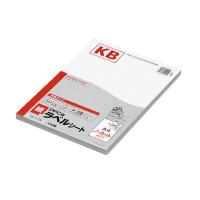 【コクヨ】 PPC用ラベルシート(共用タイプ) A4 100枚入 ノーカット 白KB-A190 入数:1 ★お得な10個パック