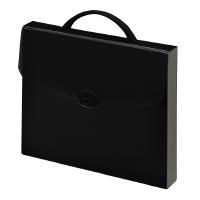 【コクヨ】 ドキュメントケース ハード(ハンドル付) A4 ブラッククケ-774D 入数:1 ★お得な10個パック