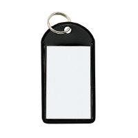 【コクヨ】 ソフトキーホルダー型名札 黒 カード寸法45×28mmナフ-220D 入数:50 ★お得な10個パック