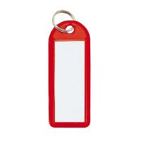 【コクヨ】 ソフトキーホルダー型名札 赤 カード寸法42×17mmナフ-225R 入数:50 ★お得な10個パック