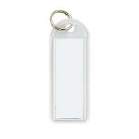 【コクヨ】 ソフトキーホルダー型名札 白 カード寸法42×17mmナフ-225W 入数:50 ★お得な10個パック