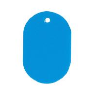 【コクヨ】 番号札 無地 大 50枚入 青 外寸法60×40×厚み2.5mmナフ-H100B 入数:1 ★お得な10個パック