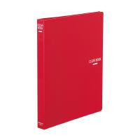 【コクヨ】 クリヤーブック B5縦 替紙式18枚ポケット26穴 赤ラ-321R 入数:1 ★お得な10個パック