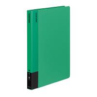 【コクヨ】 クリヤーブック A4縦 固定式40枚ポケット 緑ラ-570G 入数:1 ★お得な10個パック