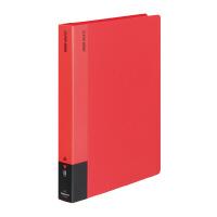 【コクヨ】 クリヤーブック A4縦 固定式60枚ポケット 赤ラ-585R 入数:1 ★お得な10個パック
