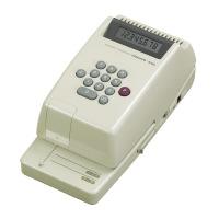 【コクヨ】 電子チェックライター 8桁 コードレス リピート印字IS-E21 入数:1