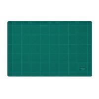【コクヨ】 カッティングマット(両面仕様) 300×450mm グリーン マ-42N 入数:1 ★お得な10個パック★