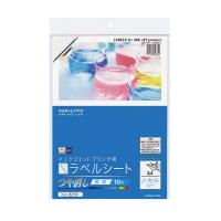 【コクヨ】 インクジェットプリンタ用フィルムラベル A4 透明ツヤ消し 10枚KJ-2210 入数:1 ★お得な10個パック
