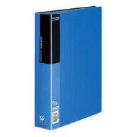 【コクヨ】 クリヤーブック A4縦 固定式100枚ポケット 青ラ-B100B 入数:1 ★お得な10個パック
