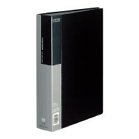 【コクヨ】 クリヤーブック A4縦 固定式100枚ポケット 黒ラ-B100D 入数:1 ★お得な10個パック